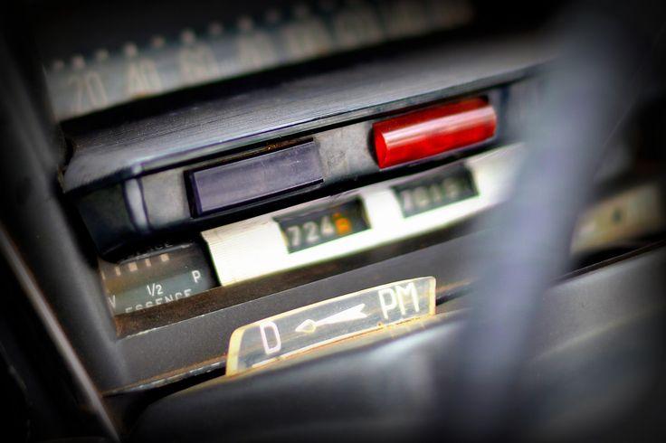 Citroen DS dashboard