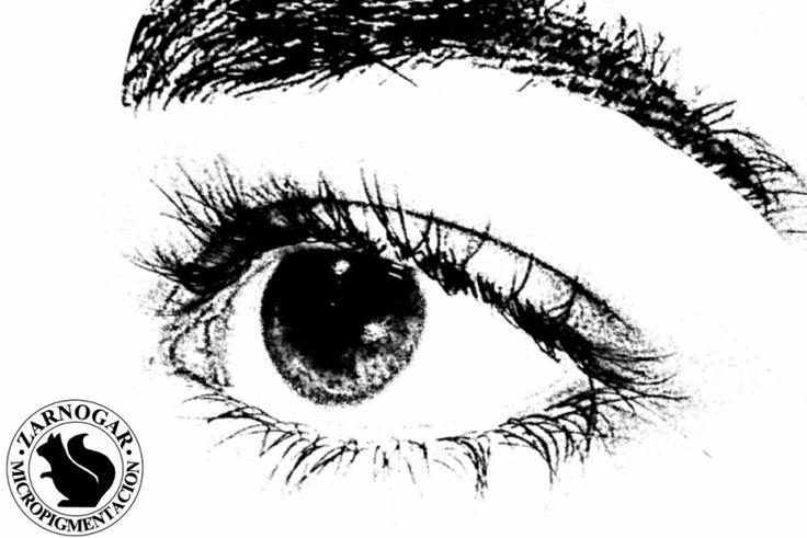 """Micropigmentación de cejas. Tratamiento con una técnica natural de """"pelo a pelo"""" en Madrid."""