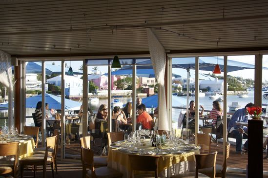 Harbourfront Restaurant Bermuda. Pin provided by Elbow Beach Cycles http://www.elbowbeachcycles.com