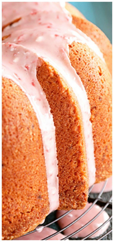 Strawberry Jam Pound Cake Recipe in 2020 Cake