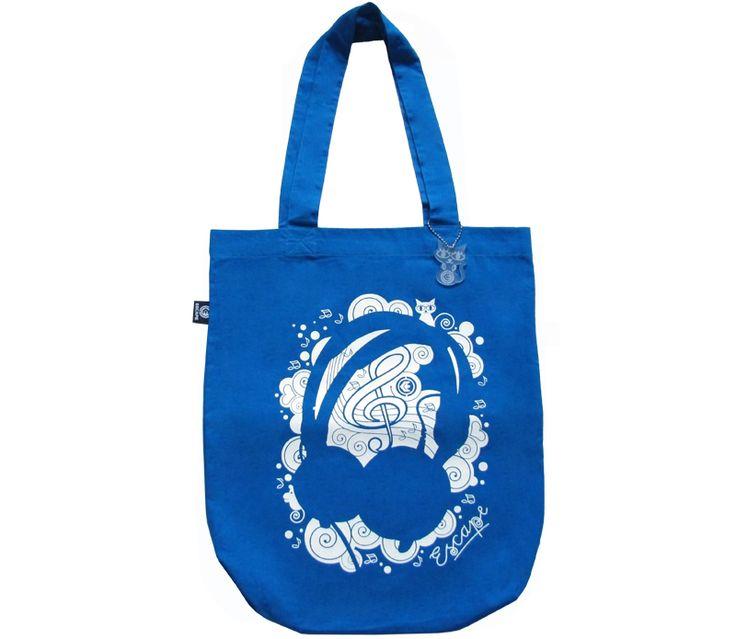 Canvas-bag Phones blue from Escape Wear
