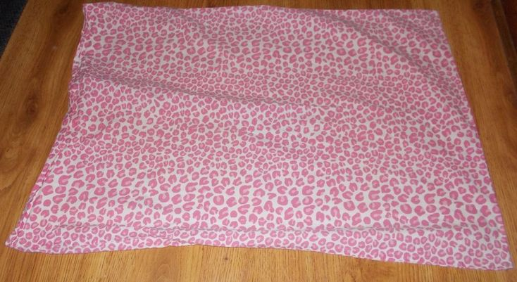 Pottery Barn Teen Pink Leopard Standard Pillow Sham Bedding  #PotteryBarn