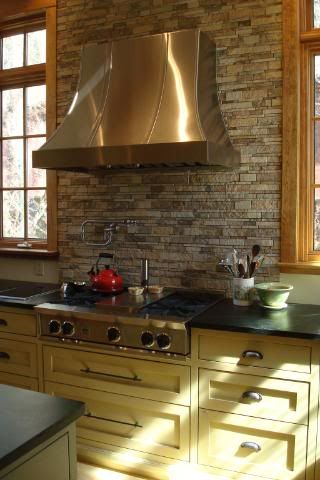 stacked stone kitchen backsplash best 25 stacked backsplash ideas on 5688