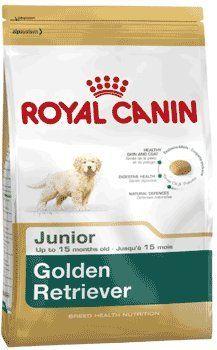 From 33 00 Royal Canin Golden Retriever Junior 29 Dry Mix 12 Kg