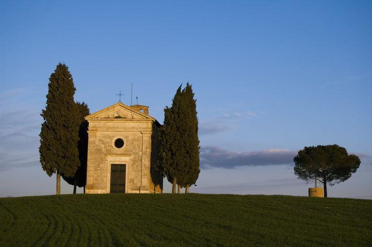 Cappella della Madonna di Vitaleta. San Quirico d'Orcia