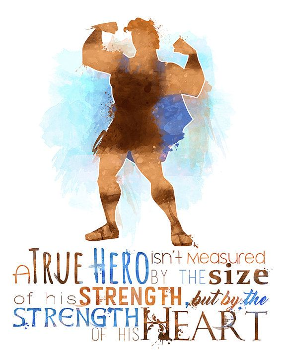 Hercules A True Hero 8x10 Poster DIGITAL par LittoBittoEverything
