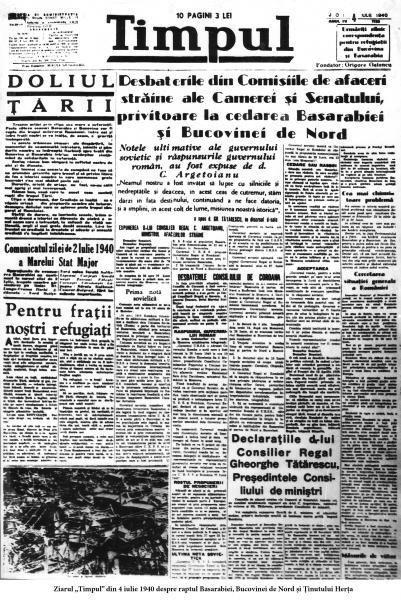 28 iunie 1940 – începutul destrămării teritoriale a României sau vinerea patimilor poporului român Dorin CIMPOEŞU Cea de-a doua ocupare a Basarabiei de către Rusia, la 28 iunie 1940, a reprezentat …