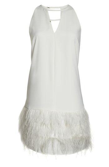 764fcb04 Sam Edelman Feather Hem Shift Dress | Trendy Cocktail Dresses ...