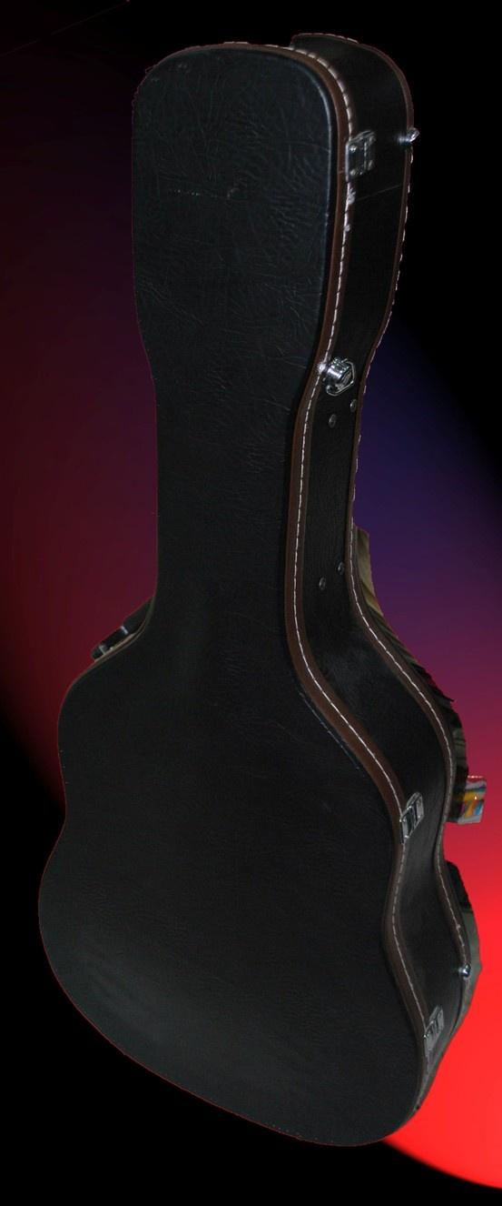 Estuche de cuero de guitarra $95