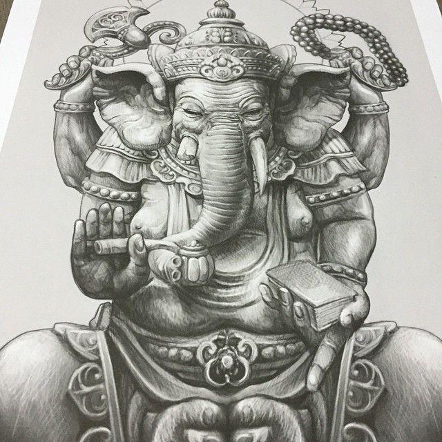 buddha elephant wallpaper art - photo #17