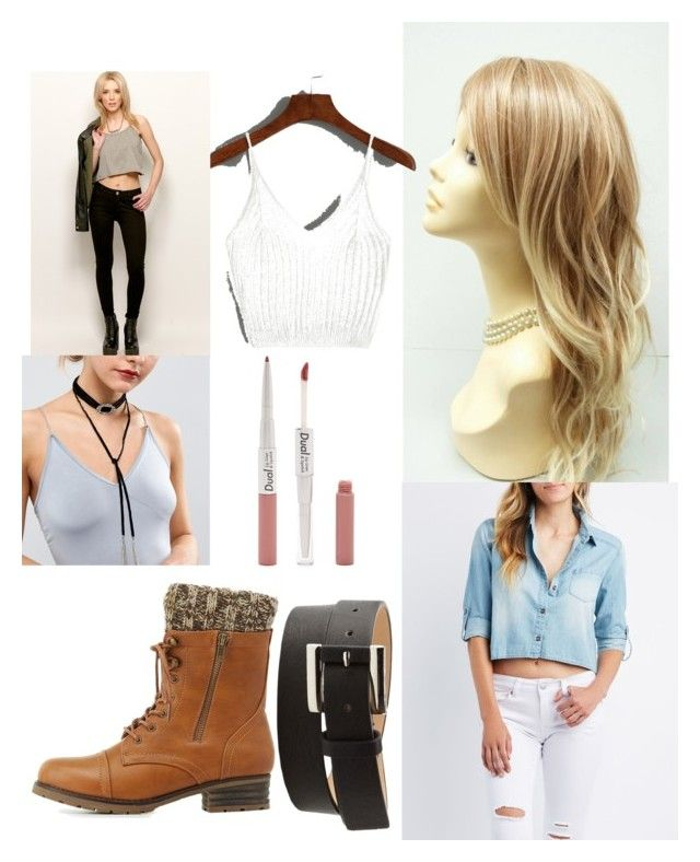 """racing costume party as Julia maddon"" by lolita061 ❤ liked on Polyvore featuring Charlotte Russe, Liars & Lovers and Forever 21"