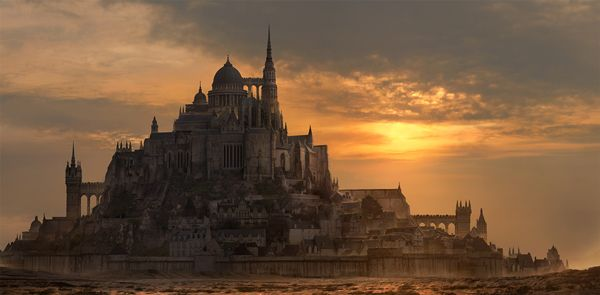 Create a Fantasy City Using Architectural Photographs (via a href=http://psd.tutsplus.com/tutorials/photo-effects-tutorials/fantasy-city/psd.tutsplus.com/a)