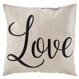 Our new love cushion is the perfect gift for your loved one this year. It can also be used as additional comfort at the dining table.  Approx. 40cm x 40cm  + 30% cotton #PoundlandValentine