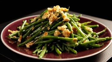 From LifeStyle Food, Gordon Ramsay's green bean salad with mustard dressing.