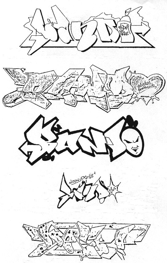1058 best Hip Hop Coloring Book compiled by Jamee
