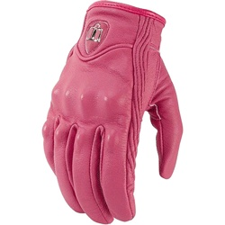 Once again, THIN glove insert from Stuffitts for these.  Icon Women's Pursuit Motorcycle Gloves. I need some winter motorcycle gloves. Black would be better though. Size small