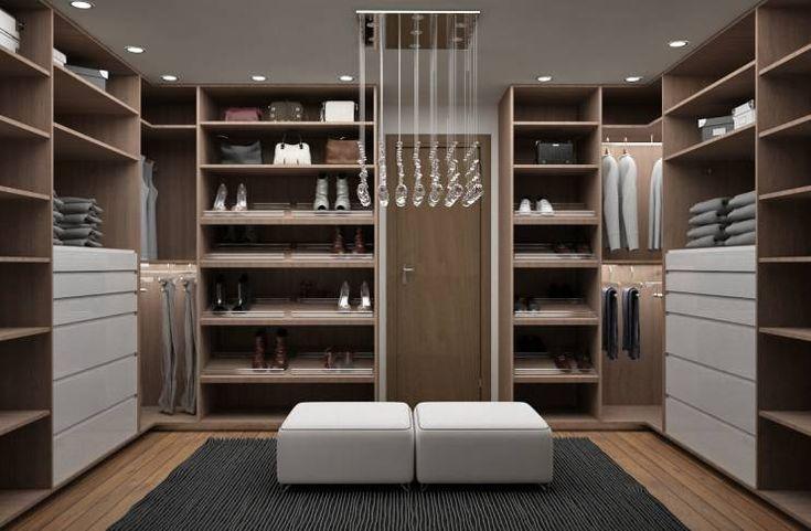 Recamara y Vestidor Moderno: Vestidores y closets de estilo Moderno por Espacio Lavanda