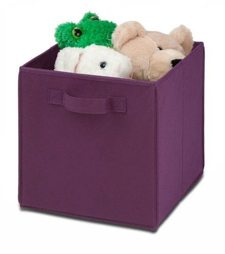 Honey Can Do SFT 01763 Kids Storage Bins, Soft And Foldable Organizers