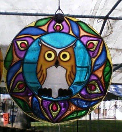 Mandala coruja