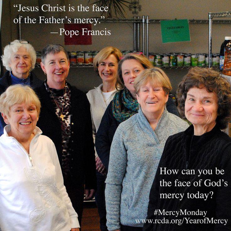 Staff and volunteers of CoNSERNS-U food pantry in Rensselaer. #MercyMonday #YearofMercy