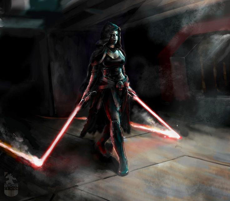 If i was a star wars characture...... Ventress