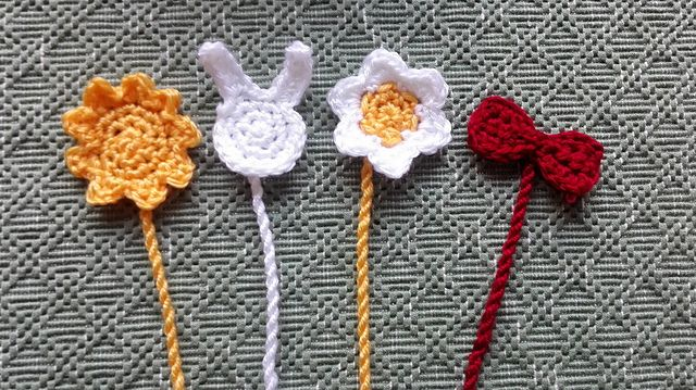 Ravelry: Simple crochet bookmarks pattern by Katrine Tveito