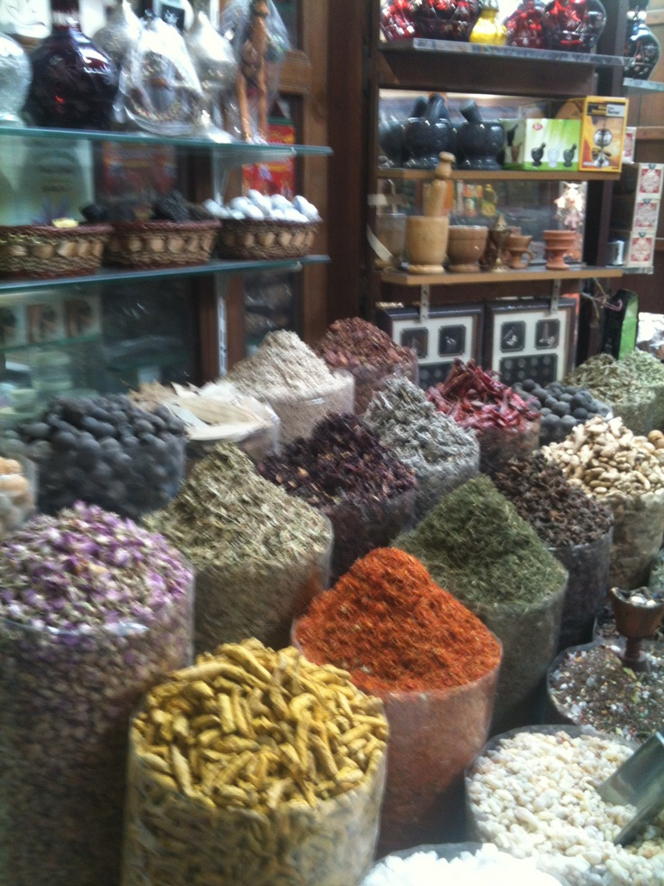 Beautiful Spice market in Dubai . The smell was heavenly....