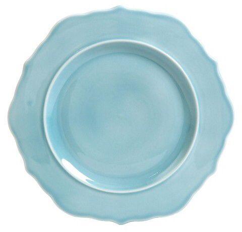 threshold wellsbridge dinner plate 85in ceramic aqua threshold