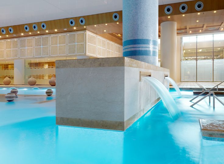 Start your day off with a few laps at our award wining Thalassotherapy pool!