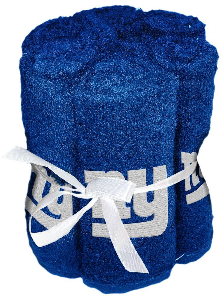 NFL Giants Wash Cloth