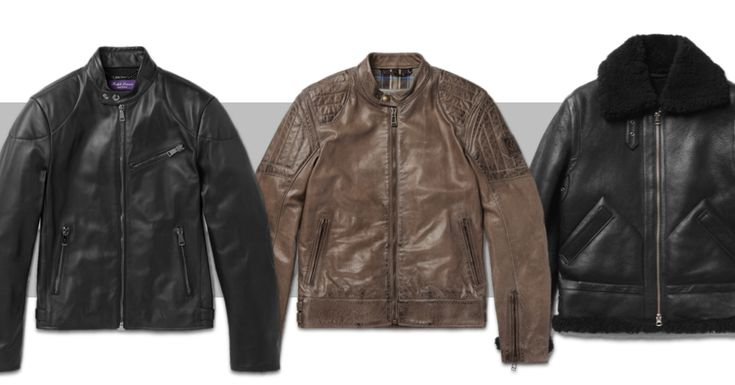Best Leather Jackets For Men in 2016 - Top Mens Leather Moto Coats