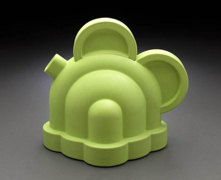 Contemporary White Teapots