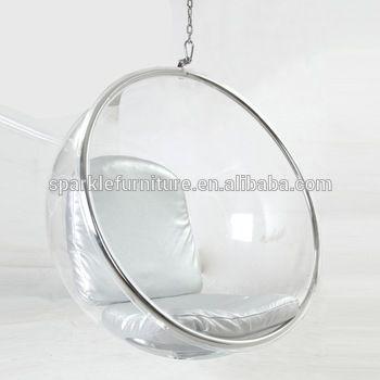Triumph Acrylic Hanging Bubble Chair Clear Eero Aarnio Ball Chair Retro Design Chair Bubble Chair