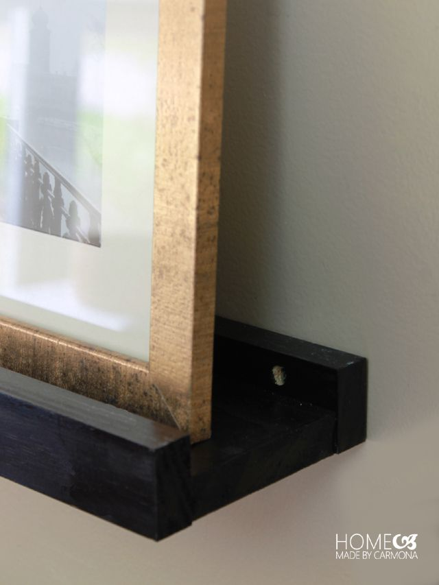 Diy Picture Frame Ledge Picture Frames Home Decor Decor