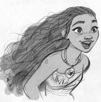 Moana is set to be the next curly Disney Princess in her upcoming film.