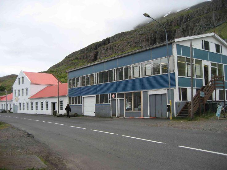 The Taeniminjasafn Austurlands Museum in Seydisfjordur, Iceland