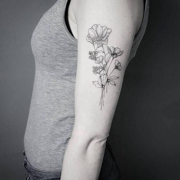 Tato Art Styles: 36 Best Fine Line Tattoos Images On Pinterest