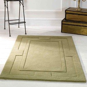 Sierra Apollo Rugs in Green - Pure Wool - Free UK Delivery - The Rug Seller