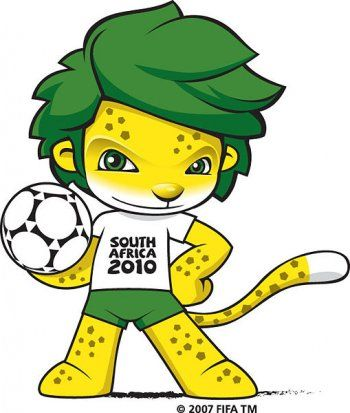 South Africa 2010 World Cup Mascot ZAKUMI Vector, zakumi world cup ...