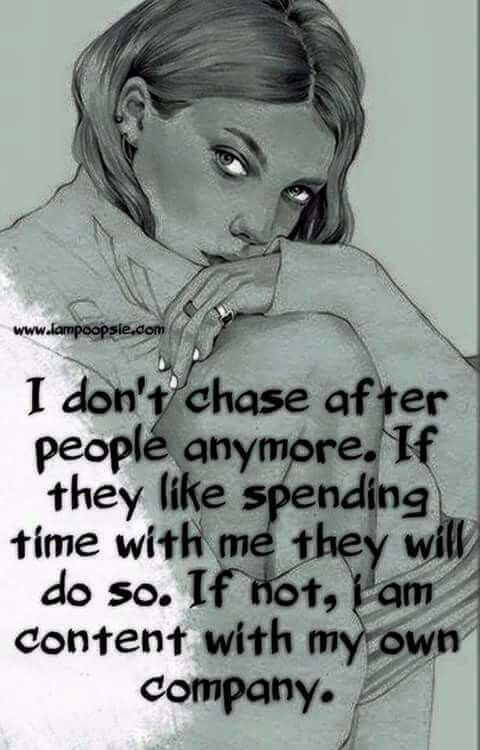 """Either they make the effort or not!! Hate one sided """"so called"""" friendships!!!!"""