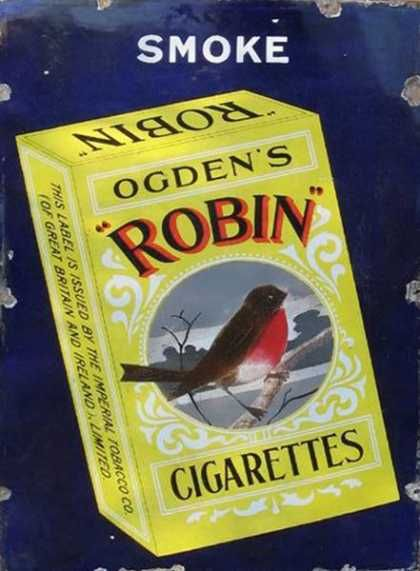 Robin Cigarettes Sign www.smokefree-electronic-cigartettes.com