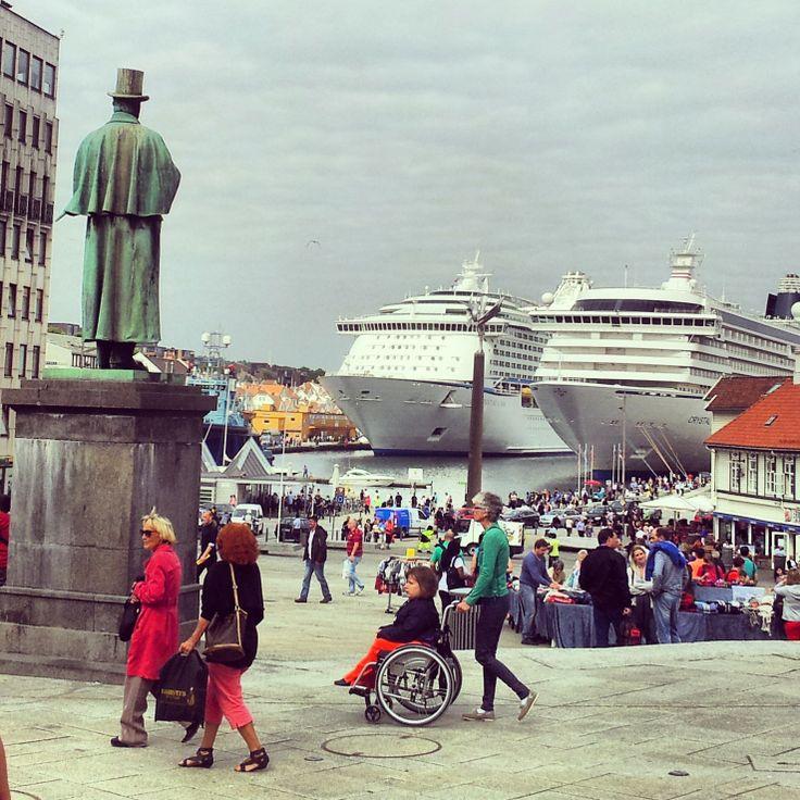 Vågen, the guest harbour in Stavanger