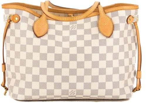 Louis Vuitton Damier Azur Canvas Neverfull PM Bag