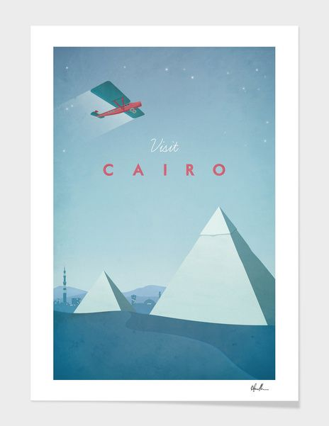 «Cairo» Art Print by Henry Rivers
