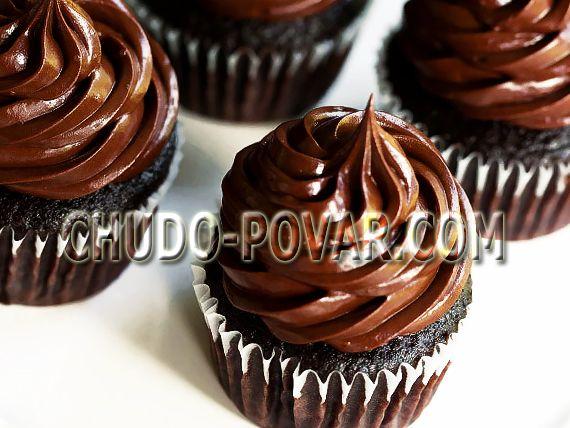 капкейки шоколадные