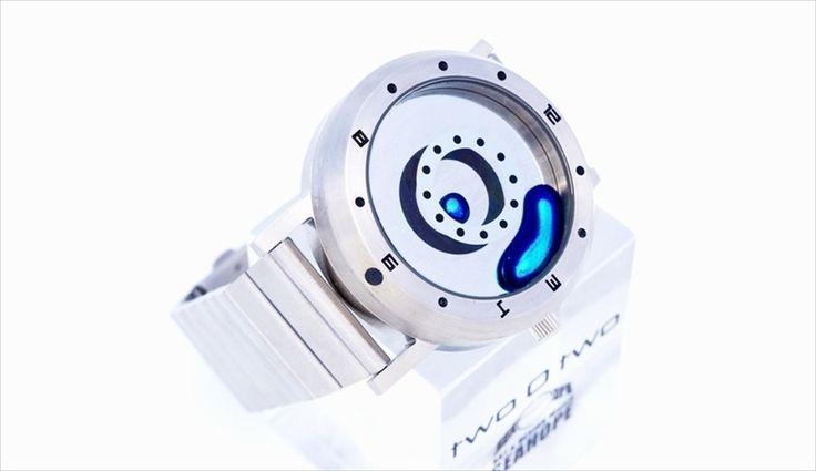 春に買い換えたい時計。「Waikeru Design Studio」より、時間を示す液体金属のカラーバリエーションが新色になった腕時計「LM Watch」が新発売です。