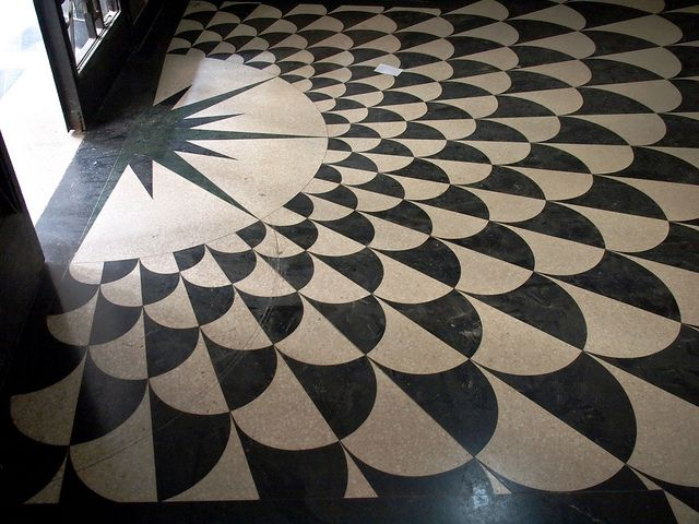 Havana Art Deco Patterned Floor