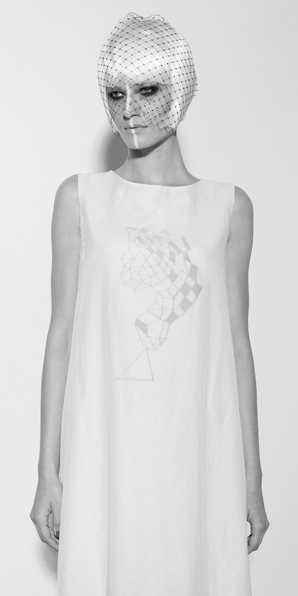 SS14 White Dress