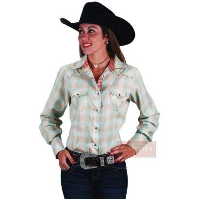 camisa xadrez country moda rodeo