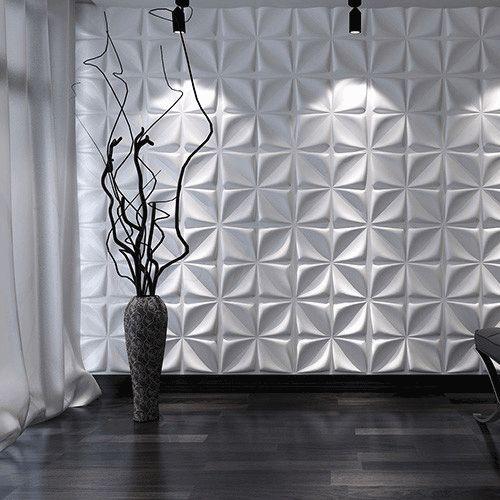 3D wandpaneel Aryl als muurbekleding. Wandbekleding van 3D panelen voor een dynamische sfeer. 3D wandpanelen GRATIS verzonden door 3d-wandpaneelkeuze.nl
